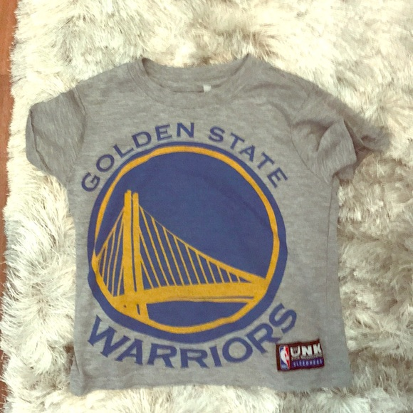 the latest afbe0 ac410 Golden State Warriors Shirt Size 4-6